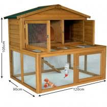 Double Rabbit Hutches Double Storey Outdoor Rabbit Hutches