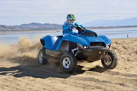 gibbs amphibious truck dirt wheels magazine gibbs quadski awesome amphibian atv