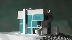 Home Inside Arch Model Design Image Richard Meier Smith House 1 100 Scale Info U0026 Shopping Write To