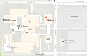 Cu Campus Map Networking Events Companies Information Environmental
