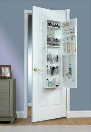 Wooden Jewelry Armoire Glass Door Wooden Jewelry Box Cherry Over The Armoire Mirror