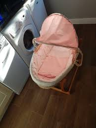 mothercare moses basket for baby in wallington london