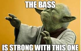 Bass Player Meme - may the bass be with you this weekend bass player magazine