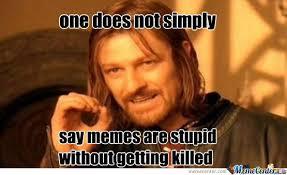 Memes Are Stupid - my sis said memes are stupid by jakefromstatefarm meme center