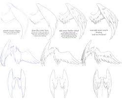 manga angel wings tutorial 1 by vitamin emo on deviantart