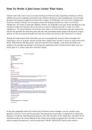 How To Write A Sales Resume How To Write A Job Cover Letter That Sales 1 638 Jpg Cb U003d1440207711