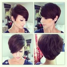 short hairstyles for women showing front and back views short hairstyles showing front and back short hair fashions
