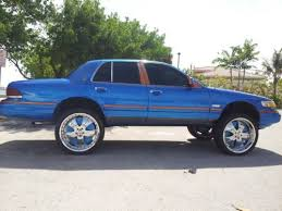 Used 24 Rims Buy Used 1992 Mercury Grand Marquis Ls Florida Gators Donk Lifted