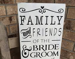 wedding seating signs primitive wedding etsy