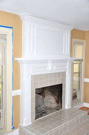 faux stone fireplace remodel image makeover ideas cost airstone