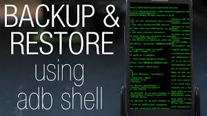 android adb tutorial how to backup or restore any android phone with