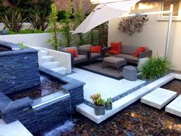 Apartment Backyard Ideas by Backyard Feature Wall Ideas House Design And Plans