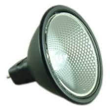 blv 105151 12 volt 50 watt black back mr16 halogen dichroic light bulb