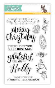 living my dream simon says stamp believe in the season blog hop