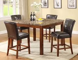 Dining Table Chairs Height Bar Height Dining Room Table And Chairs The Suitable Bar Height