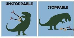 Unstoppable Dinosaur Meme - af85f51460f1e66a379c47b4c5d0ff0c jpg 736 382 hah pinterest