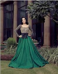 vintage evening dresses long sleeve square long length ball gown