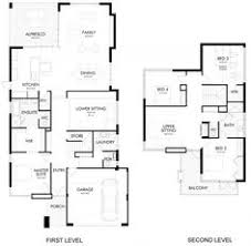 Double Story House Floor Plans This Inspirational Contemporary Double Storey House With Plan Is
