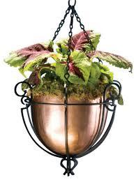 copper hanging planter u2013 craftbnb