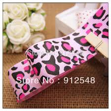 leopard ribbon online buy wholesale pink leopard ribbon from china pink leopard