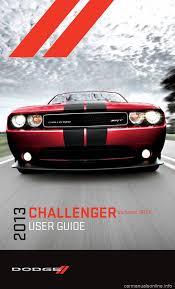 dodge challenger 2013 3 g user guide
