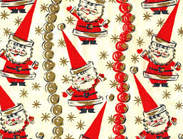 retro wrapping paper retro christmas wrapping papers happy holidays