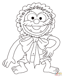 muppet babies baby animal coloring page free printable coloring