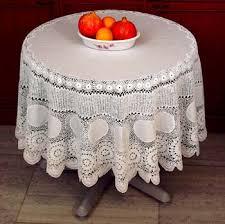 crochet table cloths