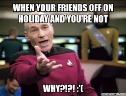 Holiday Meme - blues