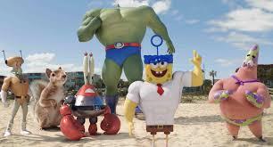 spongebob friends tranform into superheroes in u201csponge out of