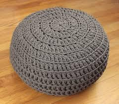 best 25 diy crochet pouf ideas on pinterest