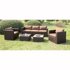 outdoor patio conversation sets 2 furniture of america cm os1820 olina 5 piece outdoor conversation