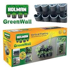 vertical garden twin pack garden wall hills self watering aud