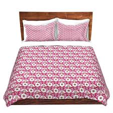 Red Gingham Duvet Cover Red And White Duvet Covers Red Pattern Duvet Cover The Blue