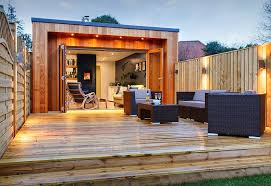 Backyard Studio Designs Forget The Man Cave Looks This Stylish