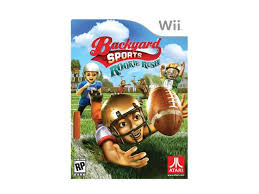 Wii Backyard Football backyard sports football rookie rush wii game newegg com