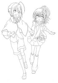 holding hands lineart by tadamufangirl on deviantart