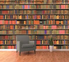 Bookshelf Background Image Bookcase Bookcase Wall Mural Bookshelf Wall Mural 3d Wallpaper