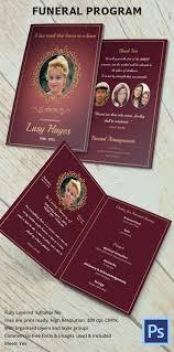 funeral programs sles memorial brochure template nicetobeatyou tk