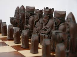 Buy Chess Set by Berkeley Chess Ltd Isle Of Lewis Chess Set Ivory And Brown