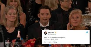 Hugh Jackman Meme - hugh jackman golden globe losing face meme cosmopolitan australia