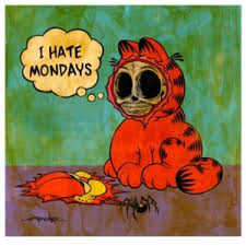 I Hate Mondays Meme - garfield i hate mondays quotes images pics
