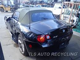 bmw z4 used parts parting out 2003 bmw z4 stock 7026pr tls auto recycling
