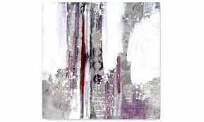 Tableau Abstrait Rouge Et Gris by Tableau Abstrait Gris Perle Parme 100 X 100 Cm New Art Gallery
