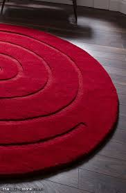 Big Round Rugs Round Red Rug Roselawnlutheran