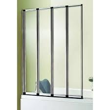 carron volente 4 fold bath screen 1000mm silver 58 700 uk carron volente 4 fold bath screen 1000mm silver 58 700