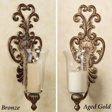 Glass Candle Wall Sconces Large Candle Wall Sconces Candle Wall Sconces With Glass Candle