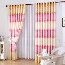 Pink And Gold Curtains Pink And Gold Bedroom Curtain Style Peony Floral