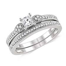 wedding ring sets uk diamond wedding ring set on jeenjewels