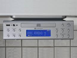 under cabinet radio with bluetooth monsterlune kitchen image